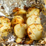 Foil Packet Potatoes on the Grill