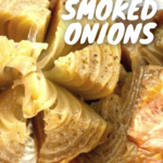pinterest image for smoked onions