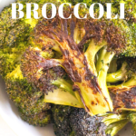 pinterest image for grilled broccoli