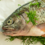 pinterest image for smoked trout