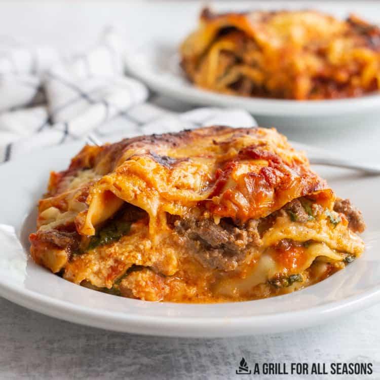 Smoked Lasagna