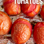 pinterest image for smoked tomatoes