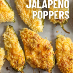 pinterest image for smoked jalapeno poppers